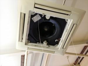業務用エアコンクリーニング 内部洗浄 横浜市磯子区