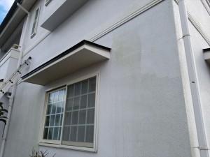 横須賀市にて外壁高圧洗浄
