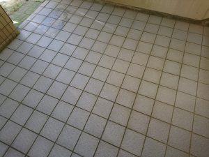葉山町 マンション共用部分 床面清掃